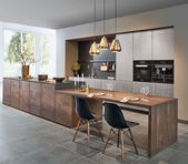 Zeyko Kitchen with adjacent to the kitchen island …