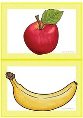 Themenpaket fruit Englisch Grundschule  Flashcards Spiele Freiarbeitsmaterial Ar…