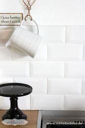 Neue Küche im skandinavischen Stil – #fliesenspie…