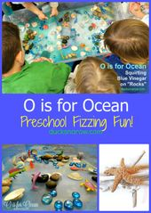 Letter U is for Under the Sea Fizzing Sensory Activity for Preschool – 2019