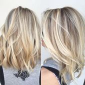 40 Balayage Hair Color Ideas with Blonde, Brown and Caramel Highlights