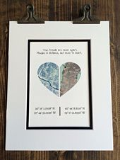 True Friends Are Never Apart… Going Off to College, Gifts for Friends, Gift For Best Friends, Distance Friendship Gift- Moving Away