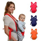 Baby Carrier Costyle Soft Infant Newborn Baby Carrier Backpack Rider Sling Red Color