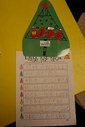 Mrs. Lees Kindergarten: Weihnachtsspaß – November/December School