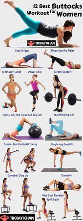 12 Best Buttocks Workout for Women