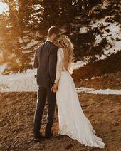 Inca klänning | Bröllopsklänning med låg rygg | Grace Loves Lace