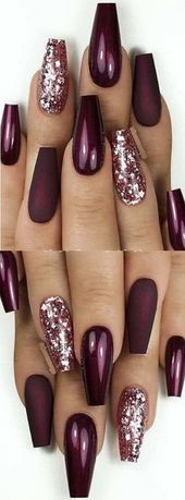 💝 73 Finest Eye-Catching Glitter Nails Designs So Excellent to strive! 💝