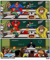 23 bandes dessinées hilarantes sur le quotidien des super-héros : Batman en couple avec Marvel Girl, ça vaut le coup d'oeil ! #memes #jokes #sillyjokes – Teshil.com