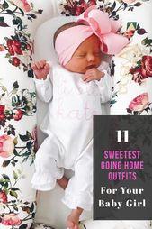 11 ENTZÜCKENDSTES BABY-MÄDCHEN, DAS NACH HAUSE KOMMT   – Baby Tips for New Moms