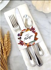 INSTANT DOWNLOAD – Thanksgiving Personalized Napkin Holder