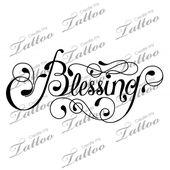 Blessing tattoo   – Tat Ideas for my wrist