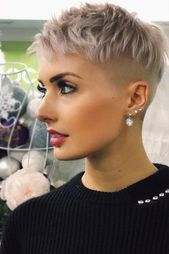 36 Latest Short Hair Trends for Winter 2017 – 2018,  #Hair #Latest #Short #shorthaircutideas …