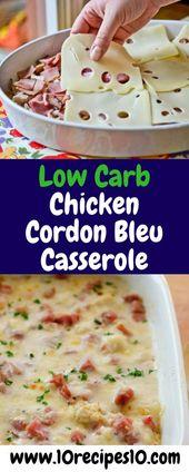 Cette recette de ragoût de poulet bleu avec cordon de poulet faible en glucides ne prend que 30 minutes! …