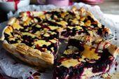 Photo of Bladerdeegblauwe taart – bliksemrecept – tongcircus