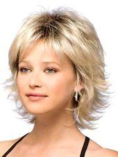 Medium Layered Hair With Bangs Trick