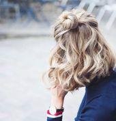 50 frische kurze blonde Haare Ideen, um Ihren Stil zu aktualisieren – Neue Damen Frisuren   – Zukünftige Projekte