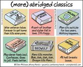 Illustrator Shortcuts  Illustrator Offers Shortcut to Classic Literature With Hilariously Brief Summari...