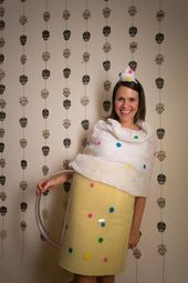 A Spooky Colorful Halloween Party  Funfetti Mug Cake Halloween Costume  Source b…