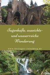 Sagenhafte Wanderung um die Allerheiligen Wasserfälle