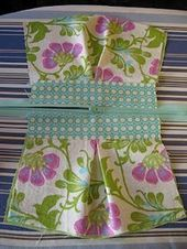 Pleated pouch, very clear sewing tutorial * genial…