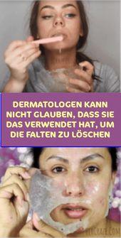 Dermatologen können nicht glauben, dass Sie dies zum Löschen der Falten verwendet haben   – Allgemeine Gesundheit