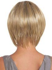 Mode Sexy Perücken Wie Echthaar Kurz Glatt Damen Blond Perücken Neu Volle wig #Wie#Echthaar#Kurz