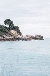 Felsenküste, Reisefotografie, digitaler Download, druckbare Kunst, mediterrane Wandkunst, Fine Art Print, Adria-Dekor | Montenegro   – beach world