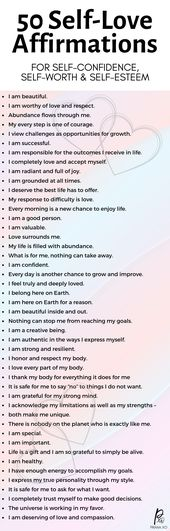 WOW self-love affirmations like these assist the legislation of attraction to work! Should you…