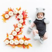 HOW TO TAKE MONTHLY BABY PHOTOS (1 – 12 MONTHS) – Anna with Love Photography – Baby pictures