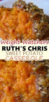 RUTH'S CHRIS SWEET POTATO CASSEROLE – Weight Watchers Recipes