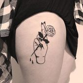 43 Gorgeous Minimalist Tattoo Ideas for Body Art! – Page 18 of 44