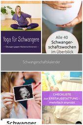 Yoga = Hilfe bei Rückenschmerzen in der Schwangerschaft! #Schwangerschaft vorbe…
