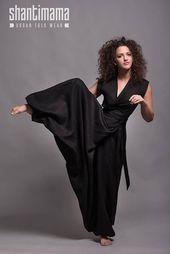 Linen Jumpsuit. Long Jumpsuit. Wrap Style Black Jumpsuit. Drop Crotch Harem Pants Jumpsuit. Washed Linen Overall. Linen Romper Plus Size – Klamotten