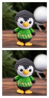 Amigurumi Cute Penguin Free Pattern – Kostenlose Amigurumi-Muster   – Spielzeug …