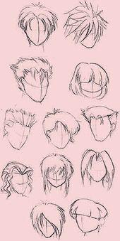 Manga Hair Painting – Frisuren Kids – # Frisuren #Kinder #MangaHaarmalerei