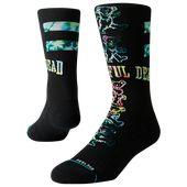 Stance Grateful Bears Crew Socks – Black