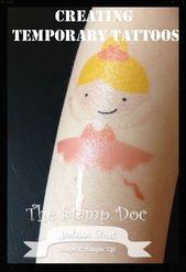 Erstellen Sie temporäre Tattoos mit Lettering Delights und Sillouette. #Tattoos …   – Temporare Tattoos