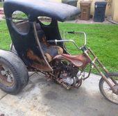 Altes Custom-Trike   – custom & cool motorcycles& bikes