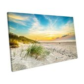 House of Hampton Canvas Print Sand Dunes Sunset Beach Wall | Wayfair.de