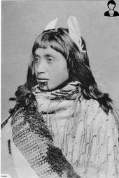 1890 TRADITIONAL PHOTO OF A LOVELY MAORI GIRL   Trade Me – #Girl #Lovely #Maori #PHOTO #Trade