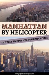 A Chicken's Eye View on a Manhattan Helicopter Tour