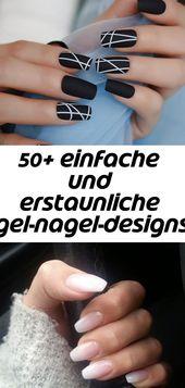 50+ einfache und erstaunliche Sommer-Gel-Nageldesigns – Seite 4 von 50 – Nägel 18   – Nagel