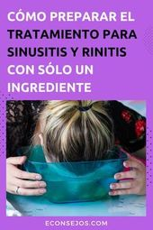Cómo hacer el tratamiento de sinusitis (y rinitis) para aliviar los síntomas en casa 1