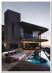 42 umwerfende Ideen für moderne Traumhäuser im Außenbereich 11