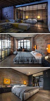Walnut Residence mit Glaswand öffnet zum Hinterhof