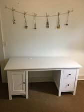 Used Ikea Hemnes White Desk For Sale In Portland Letgo Ikea Hemnes White Desks For Sale Hemnes