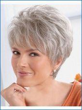 Bob Hairstyles Tiered Grey Hair – #Styles #grau #haarig #stufig – #neu   – frisuren Kurzhaar