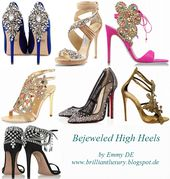 Brillanter Luxus von Emmy DE * Bejeweled High Heels