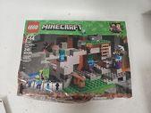 LEGO Minecraft The Zombie Cave 21141 Bausatz (241 Teile) #minecraft #playin …   – Lego Minecraft