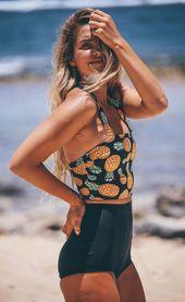 Bleiben Sie den ganzen Tag am Pool mit diesem Boss Bikini-Badeanzug, der …